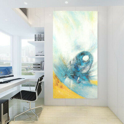 Abstract Hand Painted Art Canvas Oil Painting Home Decor -Symbol (With Frame)