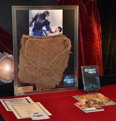 Planet of Apes PROP COSTUME, Mark Wahlberg signed Autograph, COMIC, COA UACC DVD