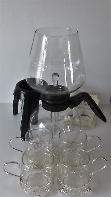 CONA COFFEE MAKER STANDARD KITCHEN MODEL 2 PT CAP.70`s* HOSTESS SET