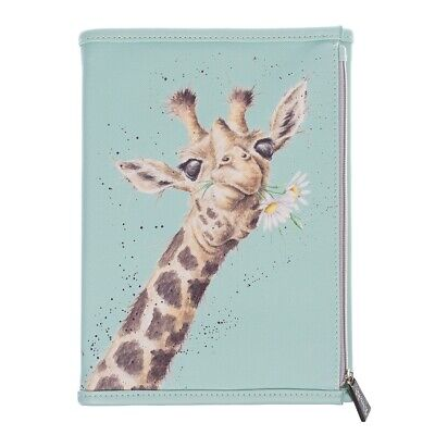 Wrendale Zoology Wallet Notebook - Zipped Pouch Wallet with Jotter Pad