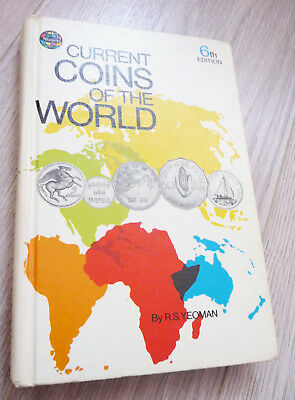 Current Coins of the World (Yeoman) 6th ed. hardcover geill.