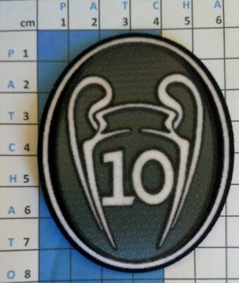 Europe Patch badge Champion's League 10  maillot de foot Real Madrid