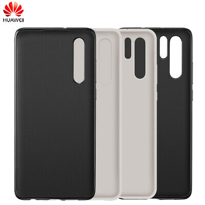 Luxury Genuine Leather Slim Back Case Shell Replacement For Huawei P30/P30 Pro