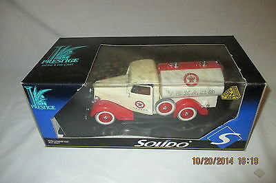 Solido Texaco 1936 Texaco Ford Tanker Citerine Truck Limited