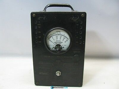 Simpson Electric Co. Volt-Ohmmeter Model 443 *Untested*