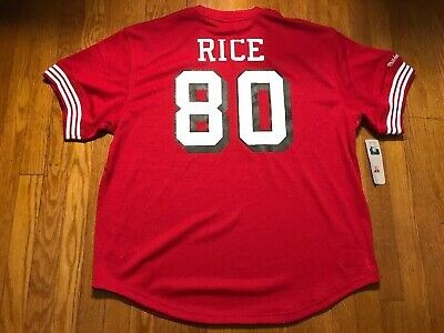 size 40 e4d63 c03b3 MITCHELL & NESS San Francisco 49Ers Jerry Rice Jersey Mens Size Xl Nfl  Jersey