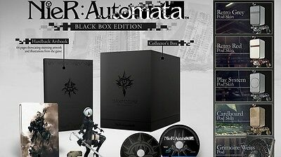 Nier Automata Black Box Ps4 Rare Exclusive Edition Sealed Fast Shipping