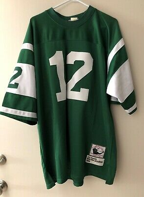 new arrival 539d9 78928 JOE NAMATH NEW York Jets Authentic Mitchell & Ness 1968 Throwback Jersey  Size 54