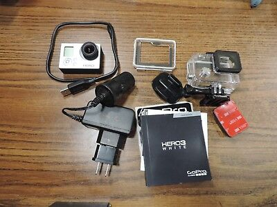 GoPro HERO3: white Edition with accessories