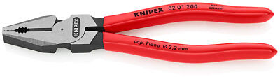 Knipex 02 01 200 High Leverage Combination Pliers 200mm 19588