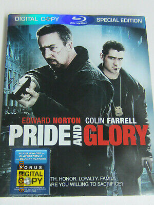 """ Pride And Glory "" Blu Ray + Digital + Special Edt. + Slipcover (2007) New/seal"
