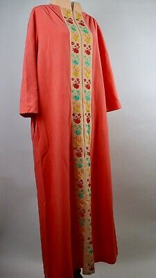 d1dda91c6f3 Vintage Robe Evelyn Pearson Long Robe Peach Made In Usa