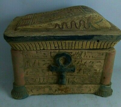 RARE ANCIENT EGYPTIAN ANTIQUE Key Life  BOX 1408-1221 BC
