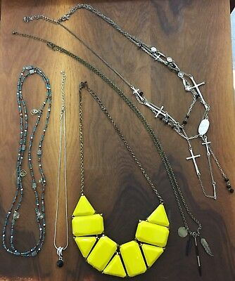 Lot of 5 CUTE costume jewelry women or teen necklaces (set 3) - GET THEM TODAY!