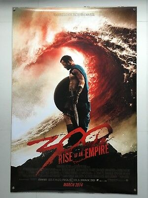 300: Rise of an Empire   original DS movie poster 27x40   Zack Snyder Red Style