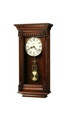 Lewisburg Wall Clock with Tuscany Cherry Finish [ID 75504]