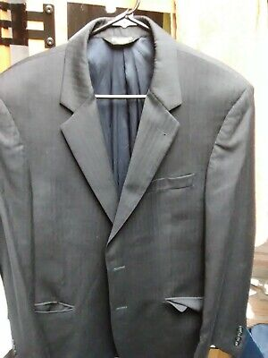 JOS A BANK Dark blue grey 2-Btn large Suit Jacket, pre-owned for 6ft tall man