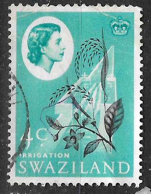 Swaziland stamp shows irrigation - farming - see scan for details