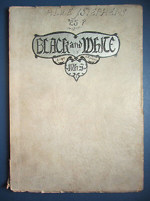 1924 BLACK & WHITE - Monessen High School Yearbook - Westmoreland Co - PA
