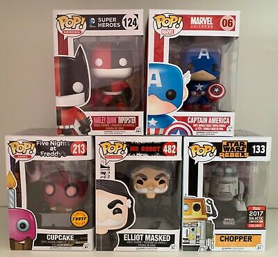 Funko Pop Vinyl - Star Wars, Marvel, Super Heroes, Guardian Of The Galaxy.
