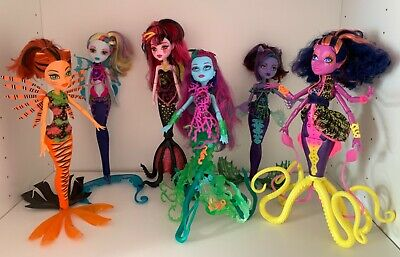 Monster High Great Scarrier Reef Dolls.