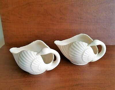 Vintage Lenox China Gold Stamp Swan Candle Holders (Pair) USA