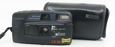 Ricoh LX-25 Panorama 35mm Point & Shoot Compact Film Camera. Tested & Working