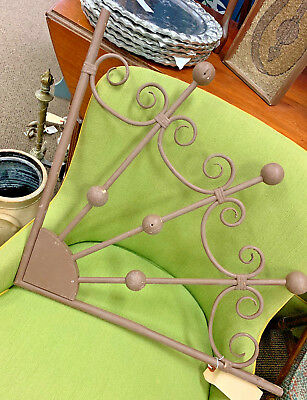 Pair Victorian Bentwood Stick and Ball Gingerbread Corner Fans Salvage Wood