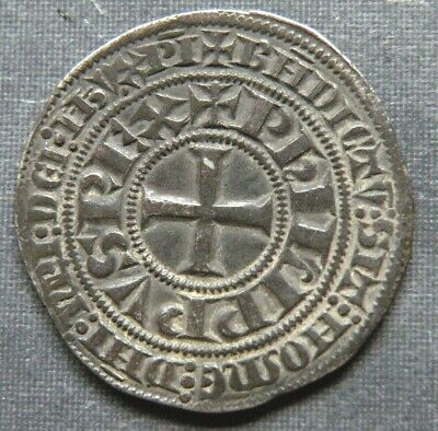 Large Medieval Crusader Cross Coin Antique 1275-1320AD Silver Knight Templar Lot