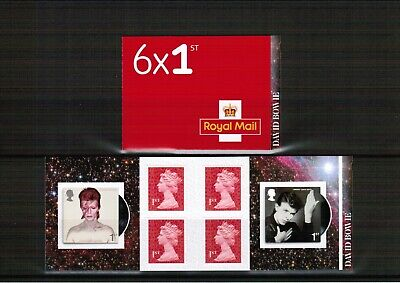 Great Britain 2017 David Bowie PM 56 Stamp Booklet