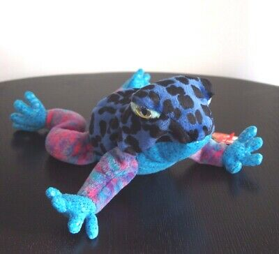"Ty Beanie Babies ""Dart"" The Blue Dart Frog DOB 22/11/2000 - Mint SPECIAL OFFER!!"