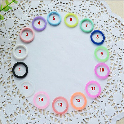 5X/Set O-Rings Silicone Baby Dummy Pacifier Chain Clips MAM Adapters Holders ZP