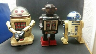 Horikawa Space Fighter ,Tomy Verbot RX ,R2D2  Roboter Japan ,   Konvolut