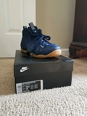 04216c76f1e 2019 NIKE AIR FOAMPOSITE ONE Sz 13 NAVY GUM 314996-405 AUTHENTIC ...