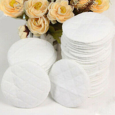 10-40pcs Reusable Nursing Breast Pads Washable Soft Absorbent Baby Breastfeeding