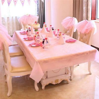 5 Colors Wedding Party Tablecover Table Cover Cloth Tablecloth Birthday MH