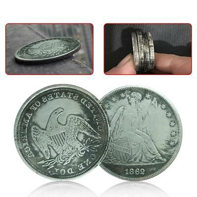38mm1862 Silver Coin American Dollar Commemorative Coin Collection Gift