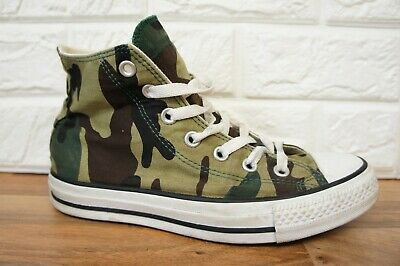 6e79db4e1e8c Converse Camo 1H666 Army Size 5 All-Star Hi-Top Canvas Ladies Trainers