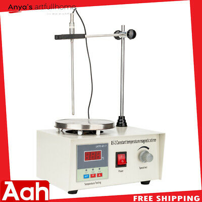 High Quality 85-2 Top Plate Magnetic Stirrer Hotplate Mixer 1000ml 200W 50Hz