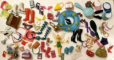 Large Lot Of Barbie Items