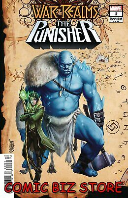 War Of The Realms Punisher #1 (Of 3) (2019) Camuncoli Connecting Variant Cover