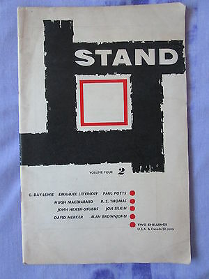 STAND 1960 Vol 4 No 2 C Day Lewis Hugh MacDiarmid John Heath-Stubbs R S Thomas