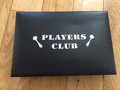 Players Club mini desk game - Darts, board, magnetic darts & rule booklet Unused