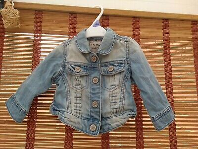 Next baby girl jeans jacket 3-6