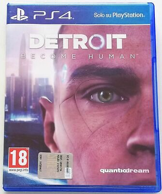 Detroit Become Human Ps4 Gioco Playstation 4 Italiano Sped Gratis Su + Acquisti