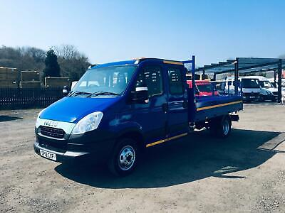 Iveco Daily 50C15 Crewcab Tipper 1 Owner From New47500Miles 4.6Tonne