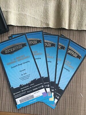 Rock Im Park 2019 : 1-5 x Zeppelin Stage Camping Tickets