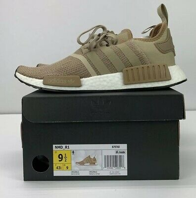 27d72e1ba66eb NEW! Adidas NMD R1 Casual Shoes Gold   White B79760 MENS Size 9.5
