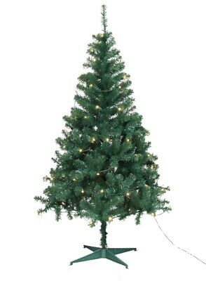 Jingles Pre-Lit Led Ben Nevis Green Christmas Artificial Tree - 6 and 7 Foot