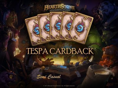 Hearthstone Dalaran Flame TeSPA Cardback - All Regions (FAST DELIVERY)